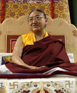 Tsechen Kunchab Ling – Seat of the Sakya Dolma Phodrang in
