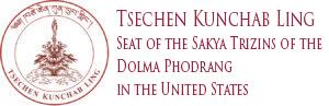 Tsechen Kunchab Ling Logo